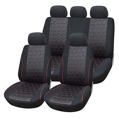 Ford Focus C-Max-Lujo Cuero Acolchado Look cubiertas de asiento de coche-Conjunto Completo