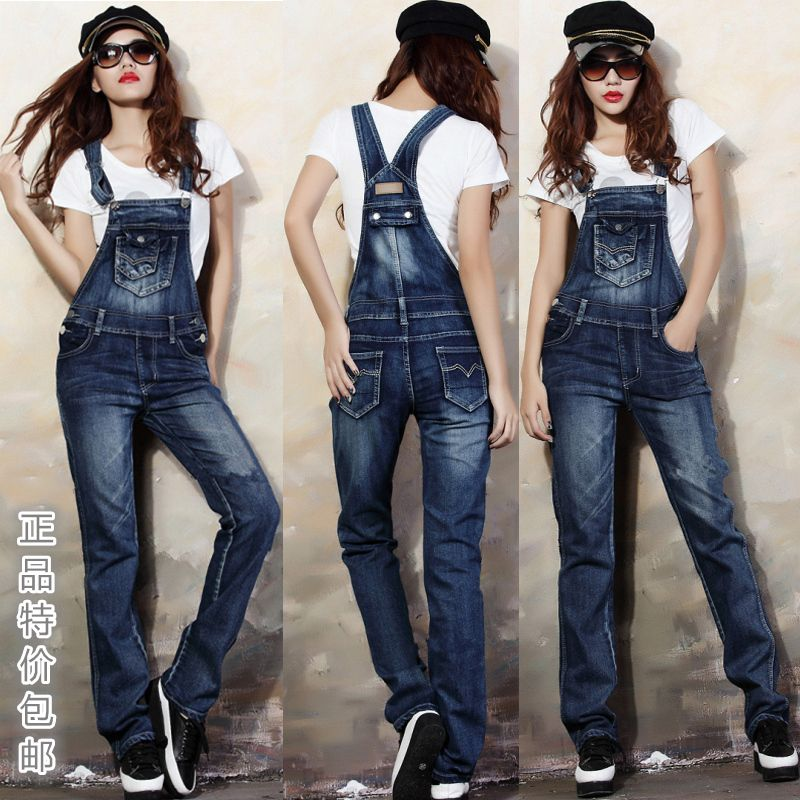 93b3eab6cf73 Women jeans overall new fashion 2014 srping summer designual full ...