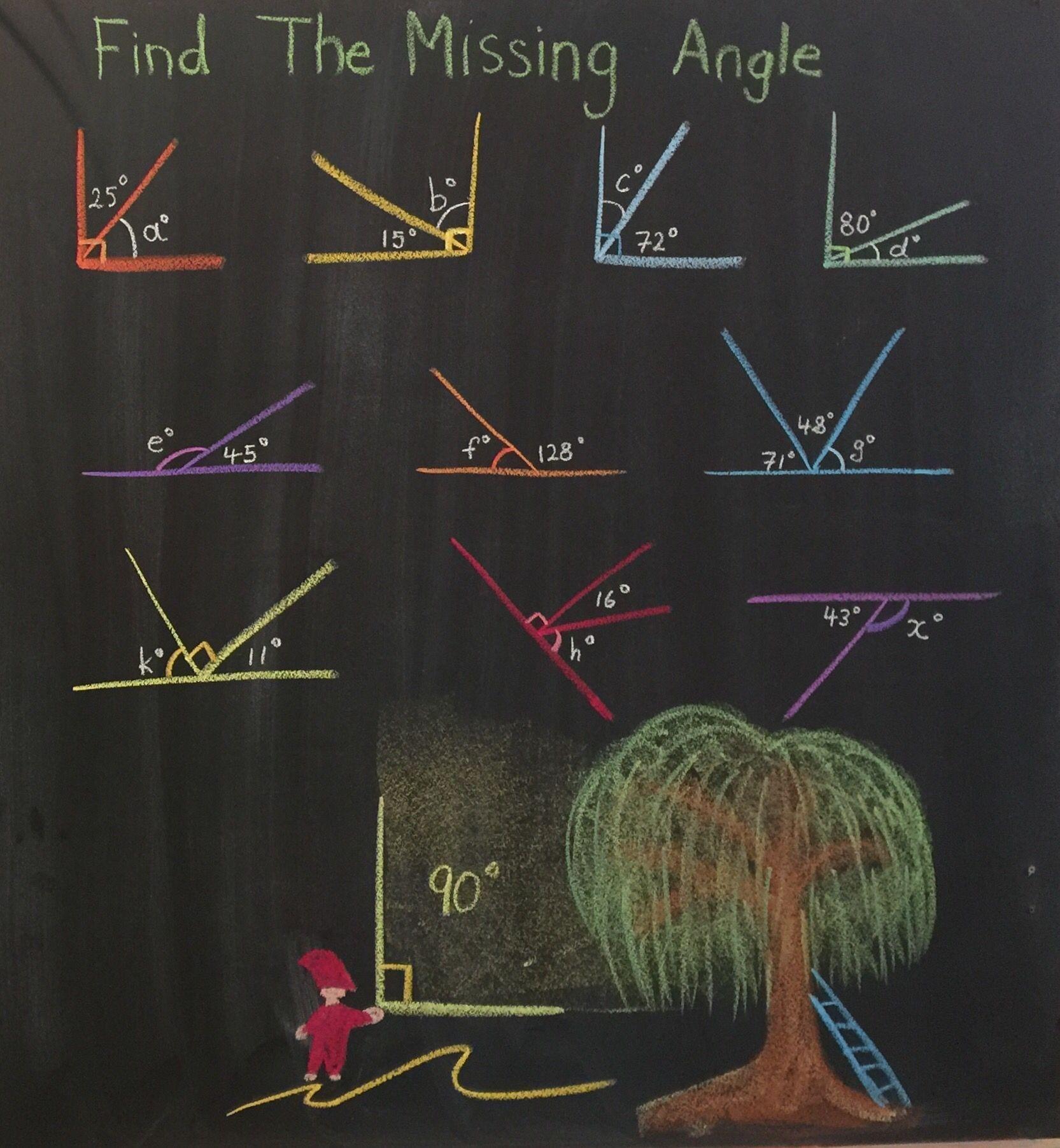 57 Angle Measurement Worksheet Graphics
