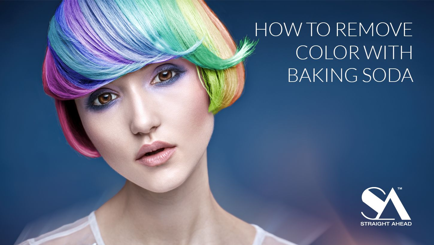 How To Remove Color With Baking Soda In 2020 With Images Damp Hair Styles Hair Color Remover Color Stripping Hair