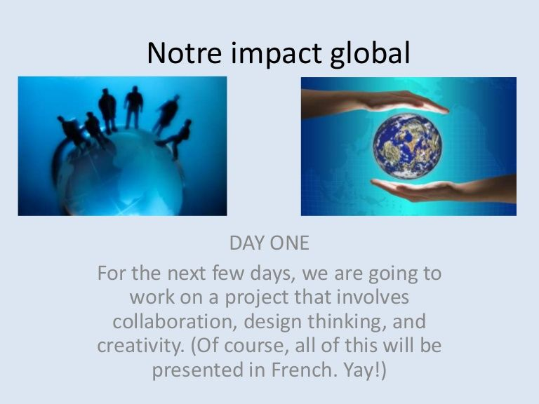 Commercial   global impact project 2014 three-days
