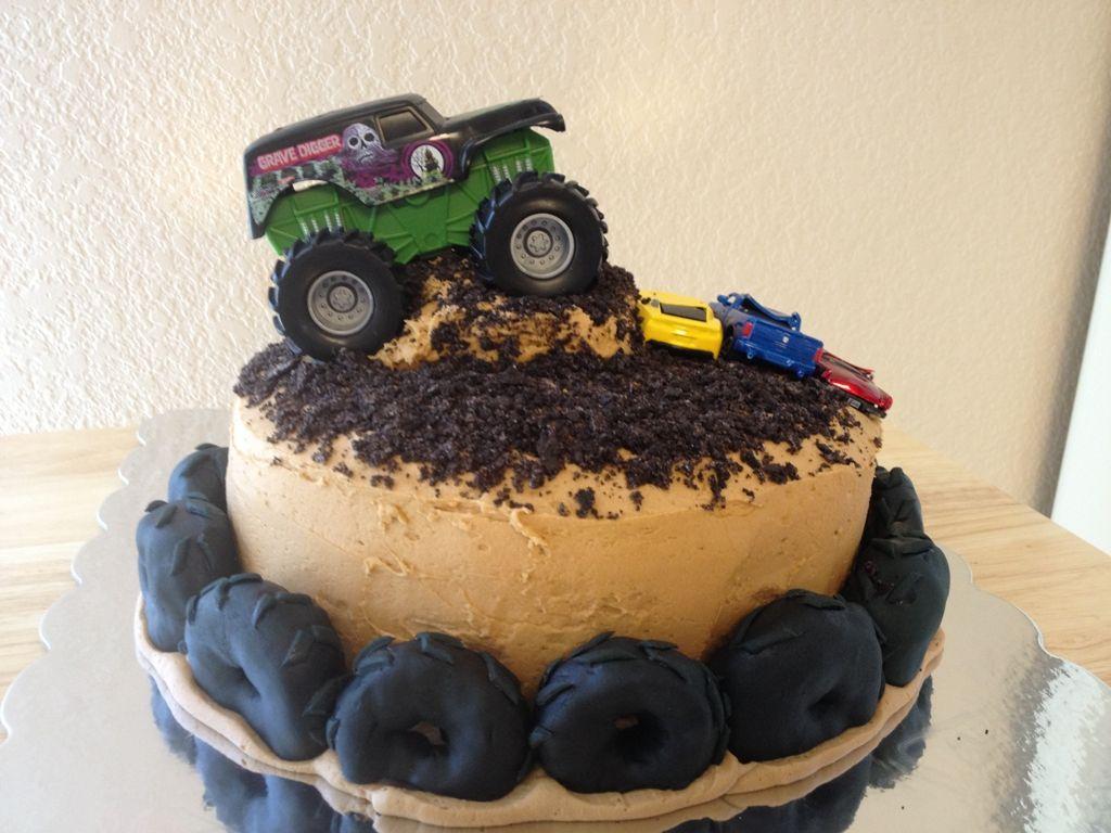 Monster Truck Birthday Cake Ideas : Monster Birthday Cakes ...