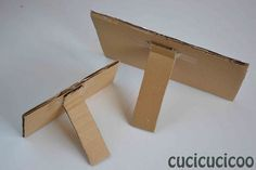 Use Cardboard To Make Stand Alone Picture Frames For Your Kids