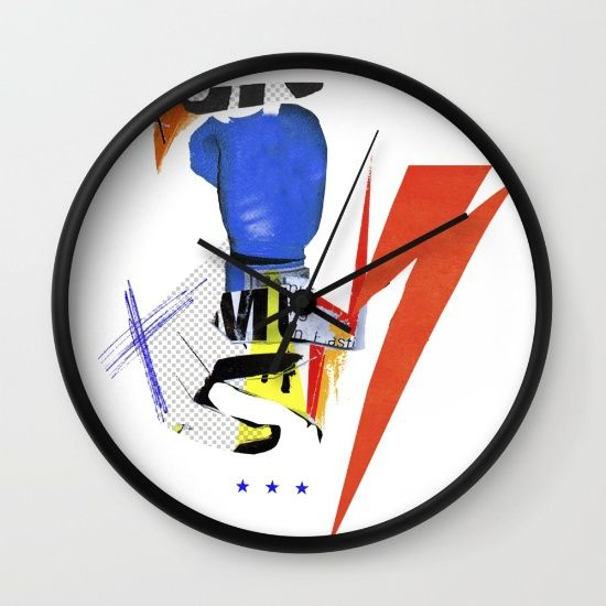 Buy colors Wall Clock by Sandrine PAGNOUX. Worldwide shipping available at Society6.com. Just one of millions of high quality products available.