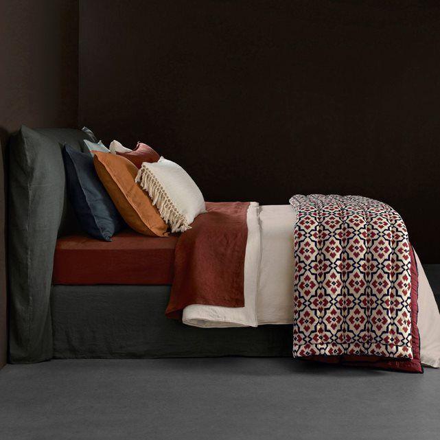 boutis voile de coton boheme linge de lit housse de couette tete de lit tissus et deco. Black Bedroom Furniture Sets. Home Design Ideas