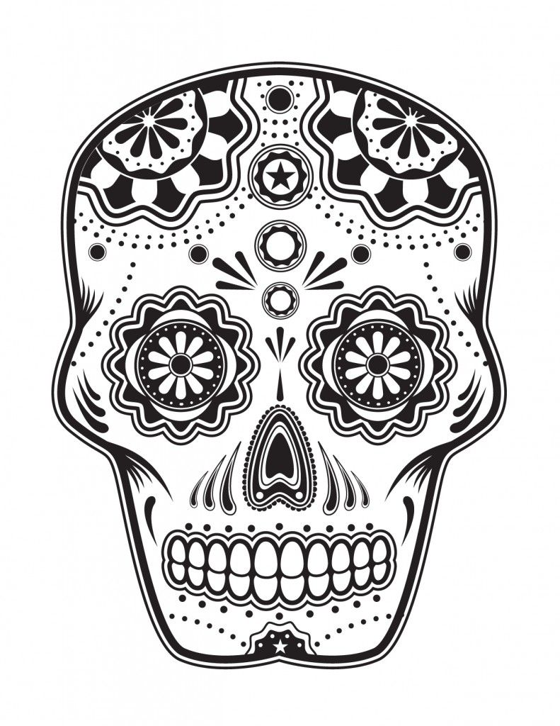 Free skull tattoo designs to print - Diy Imagixs Is A Free Coloring Page Search Engine Just Type What Sugar Skull Artsugar Skull Tattoossugar