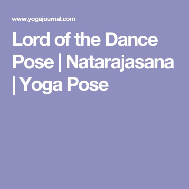 Lord of the Dance Pose   Lord of the dance, Dance poses, Poses