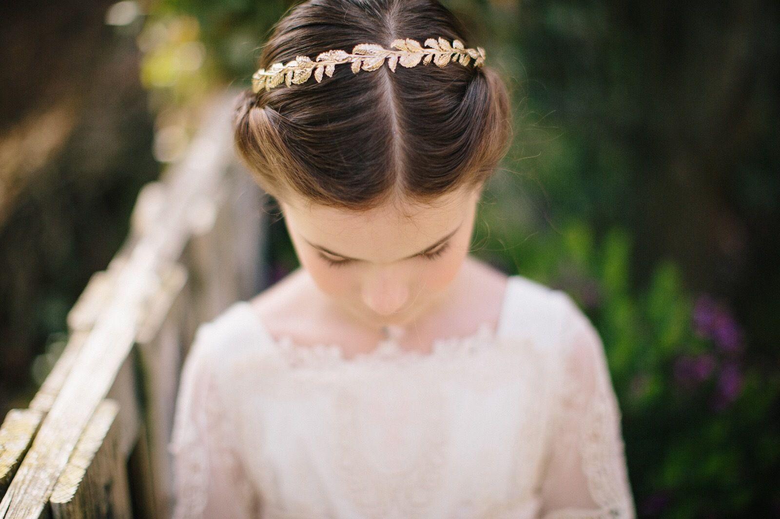 Bonito y cómodo peinados para niña de comunion Imagen de cortes de pelo estilo - Los mejores peinados para una comunión de cuento - Telva ...