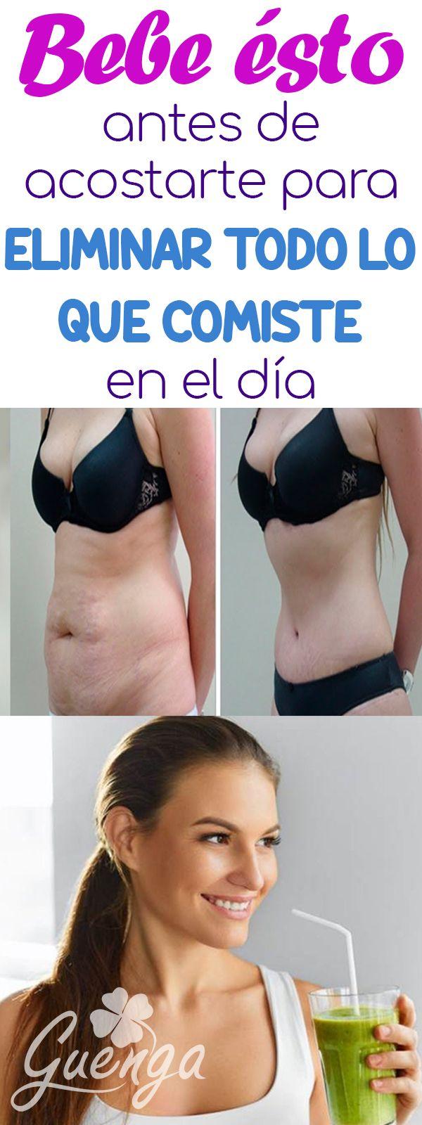 Como Eliminar Todo Lo Que Comiste En El Dia Y Adelgazar Body Skin Condition And Treatment Health Fitness Health