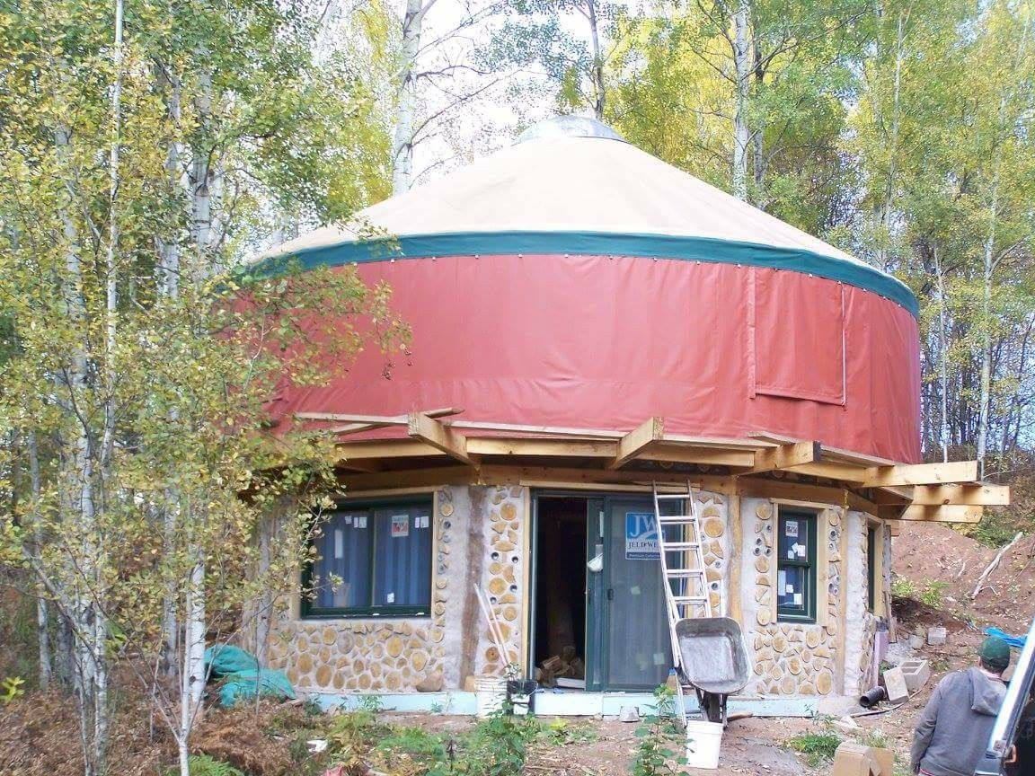 A Two Story Yurt These Photos Show Some Options For Building Your Yurt Platform On Top Of A Basement Www Coloradoyurt Com 800 288 Yurt Living Yurt Home Yurt We are planning on running two yurt building courses in 2017/18 to celebrate 20 years of yurt living and making. a two story yurt these photos show