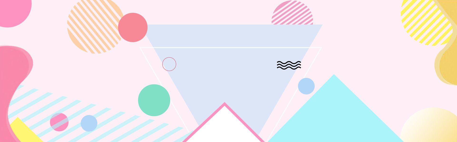 Pink Sweet Female Supplies Cosmetics Banner Background Youtube Banner Backgrounds Cosmetics Banner Banner Background Images