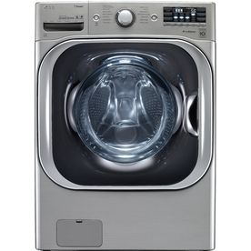 5 2 Cu Ft High Efficiency Front Load Washer With Steam Cycle Graphite