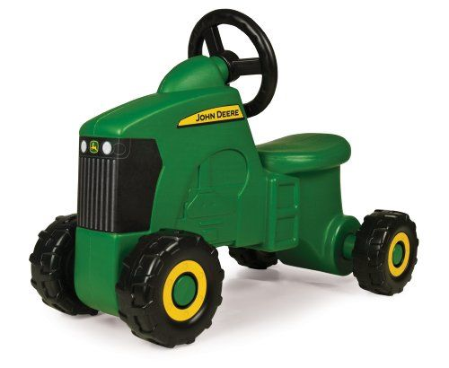 Tractor Trailer Childrens Toddler Kids Play Along Ride On Push Sit Riding Toy