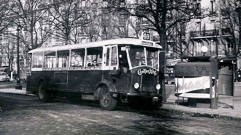 HISTOIRE DES ANCIENS AUTOBUS PARISIENS - LE PIETON DE PARIS | Autobus, Paris,  Parisiens