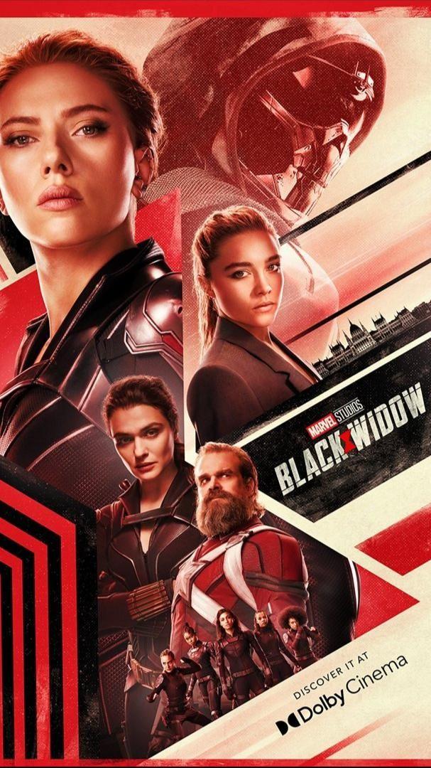 Posters promo de 'Black Widow' para los cines