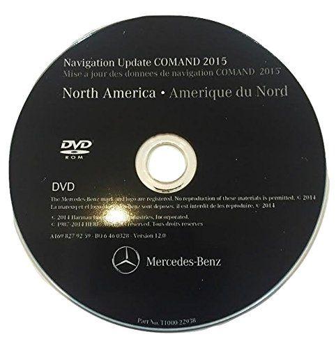 MERCEDES BENZ v 12 2015 NAVIGATION DVD CD MAPS DISC NTG2