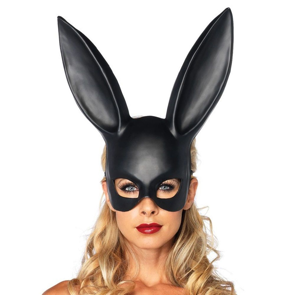 new sexy bondage masquerade bunny rabbit mask adult halloween costume accessory legavenue - Masquerade Costumes Halloween