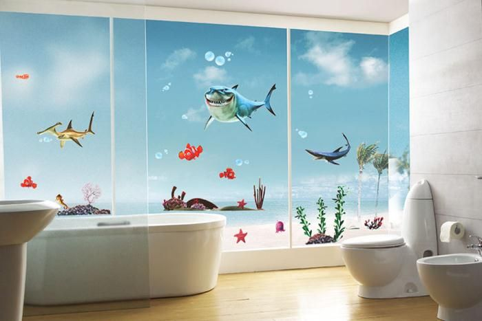Get A Good Looking Bathroom With Some Simple Tips Kid Bathroom Decor Bathroom Decor Colors Home Wall Painting