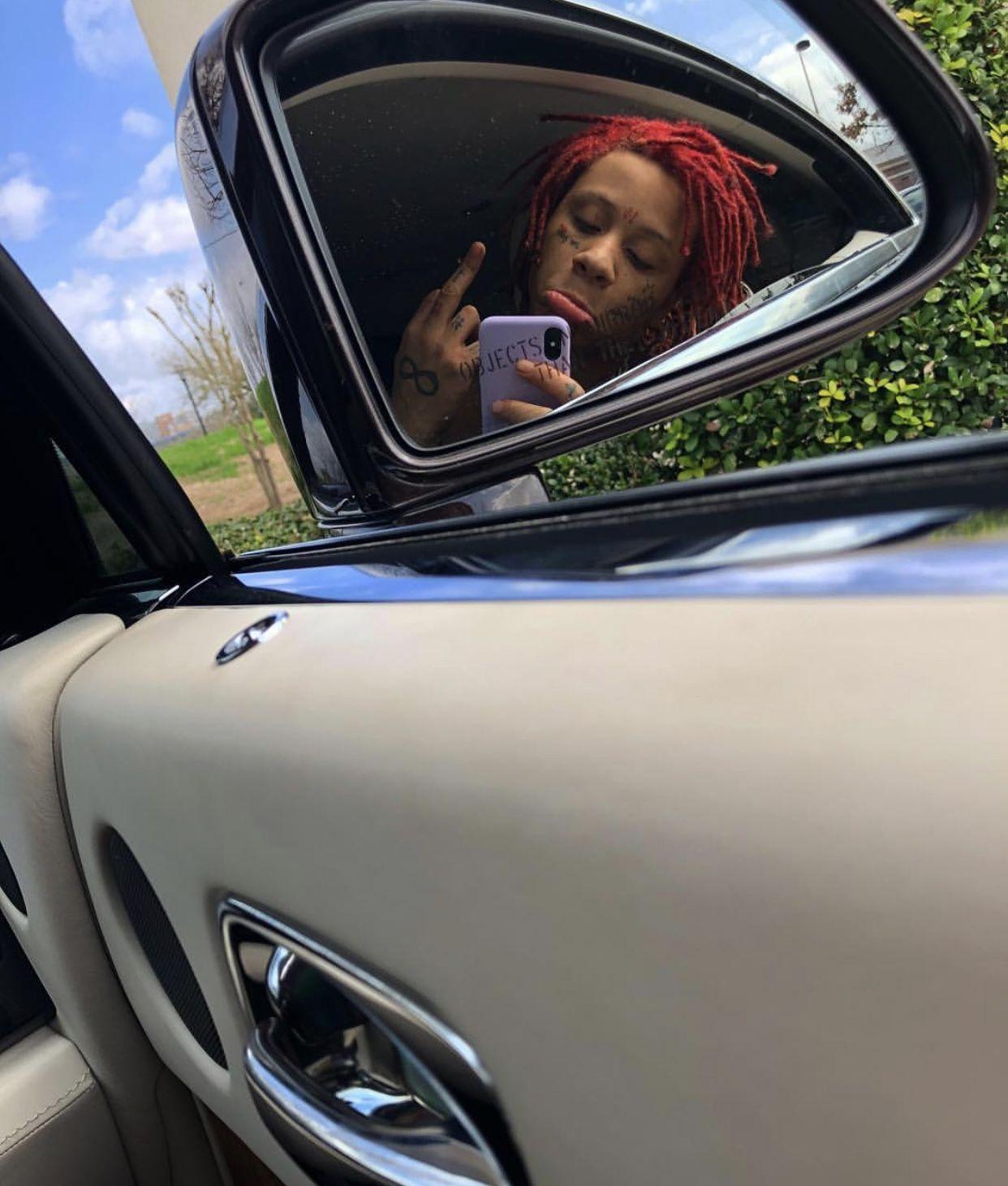 Trippie Redds car