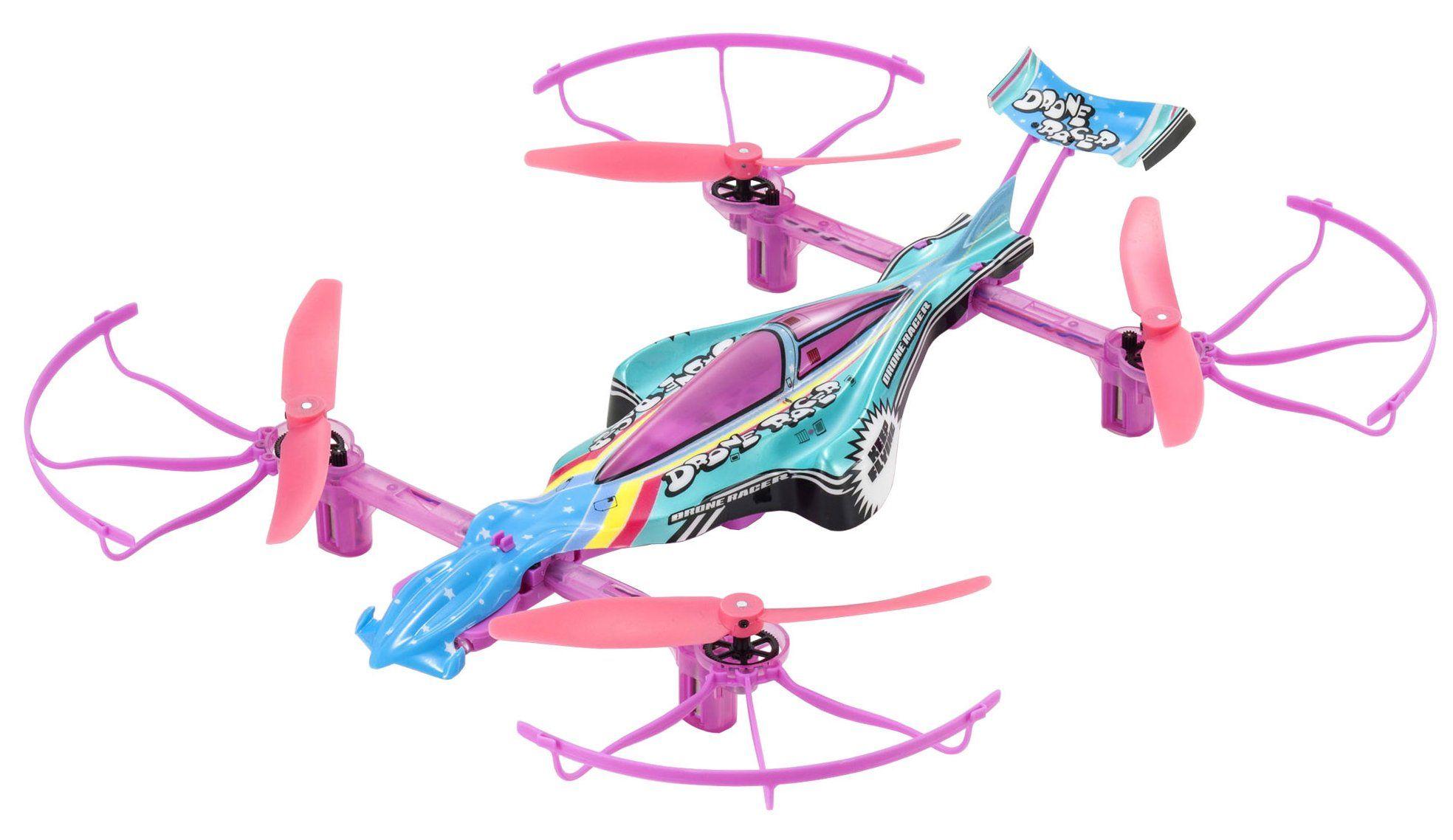 Kyosho Airplanes Rtf Racing Drone Pastel Rainbow *** Click
