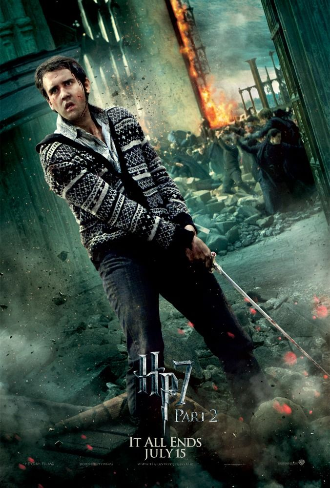 Neville Longbottom The Real Hero Of The Harry Potter Franchise Speaks Out Harry Potter Poster Neville Longbottom Deathly Hallows Part 2