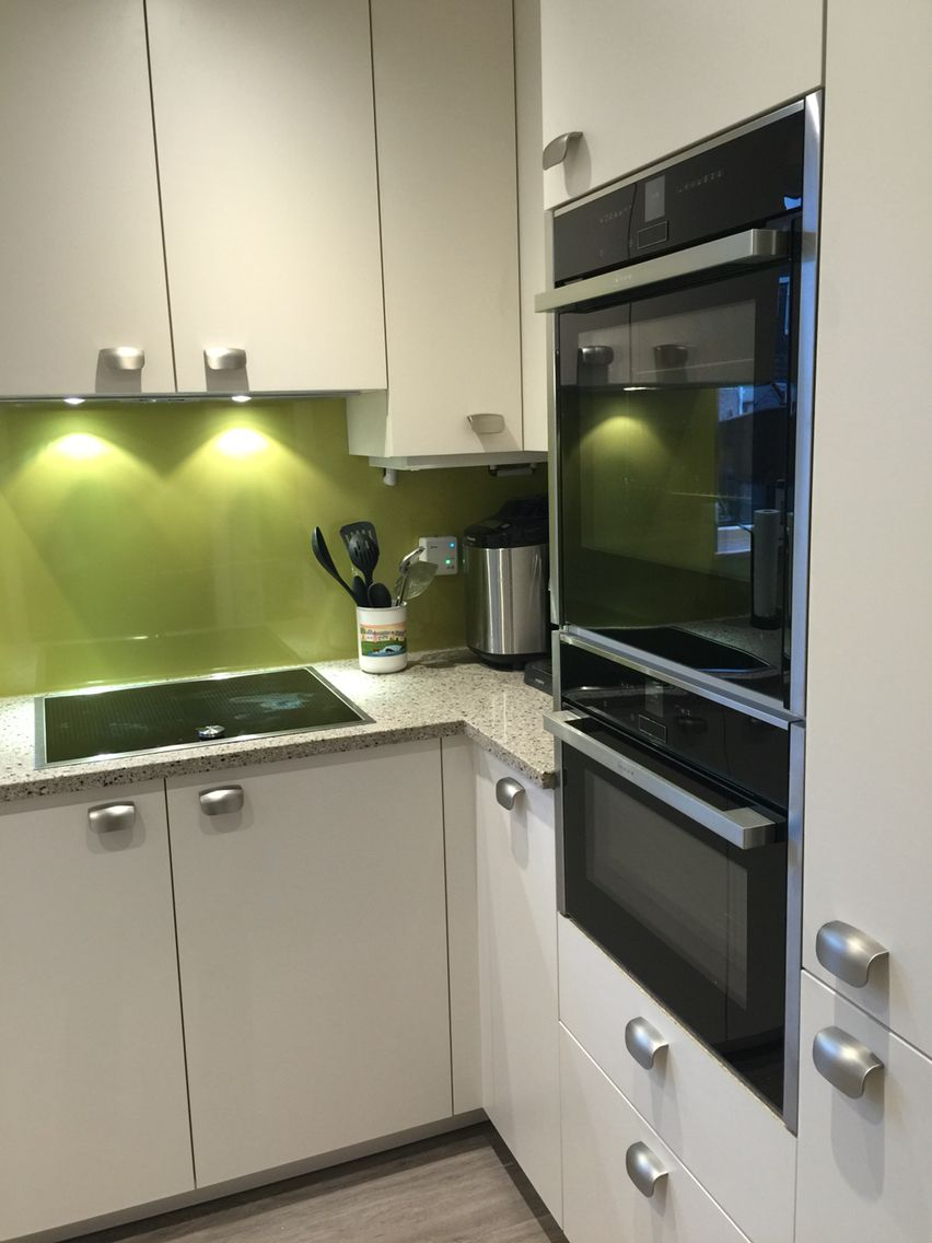 Colour For Kitchens Wasabi Formica Splash Back Brings A Splash Of Colour To Your