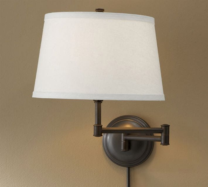 Pb Look Alikes Pottery Barn Chelsea Swing Arm Sconce Sconces Wall Lamps Sconces Wall Lamp