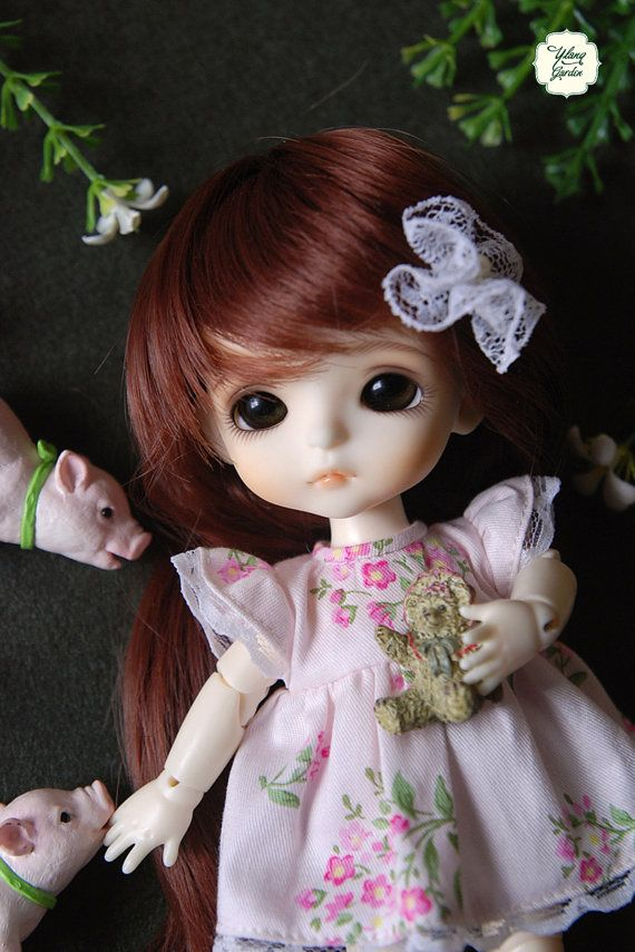 Lati Yellow/ Puki Fee Light Pink Dress with lovely by YlangGarden, $15.00