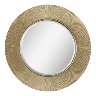 Check Out The Ren Wil Mt1114 Dayton Circular Mirror In Champagne Priced At 327 80 At Homeclick Com Champagne Mirror Round Mirrors Accent Mirrors