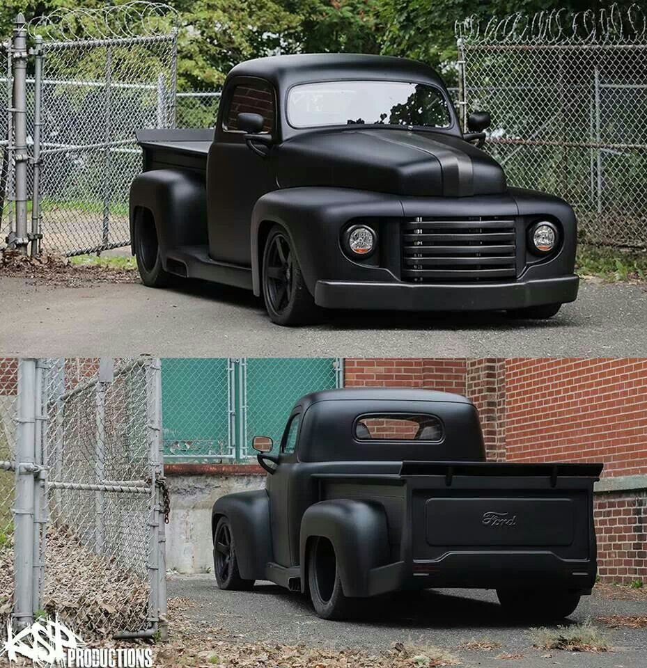 Ford Trucks: Nice Black Out Truck. Not Usually A Fan Of Lowered, But
