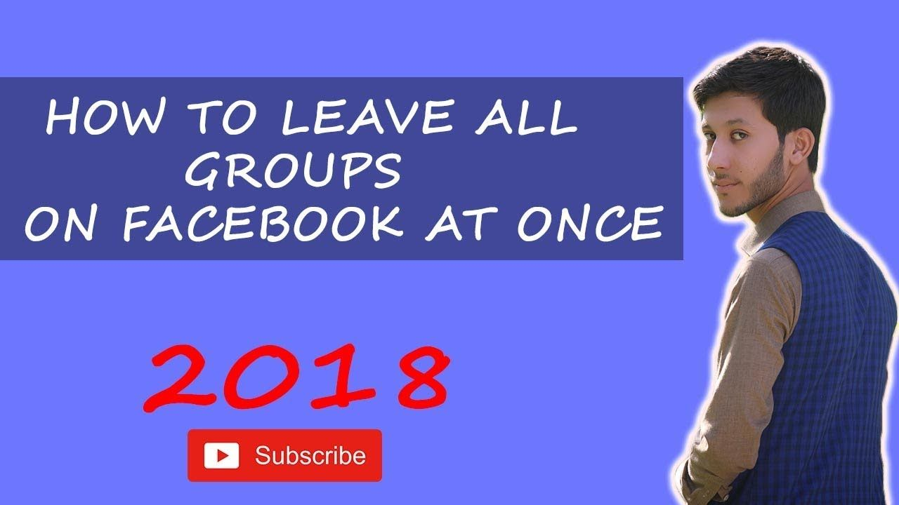 How To Leave All Groups On Facebook At Once Facebook Group How To Remove