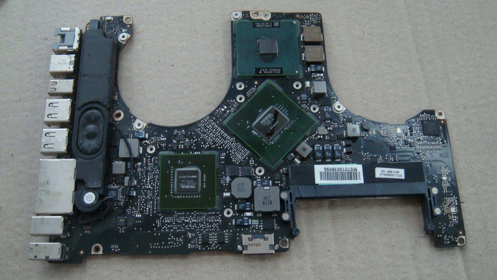Kết quả hình ảnh cho a1286 2009 logic board