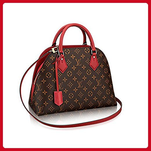 Authentic Louis Vuitton Monogram Canvas ALMA B N B Bag Handbag Red Article   M41779 Made in France - Top handle bags ( Amazon Partner-Link) 61a1449845