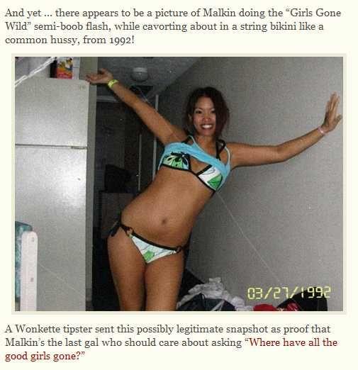 In Michelle bikini malkin