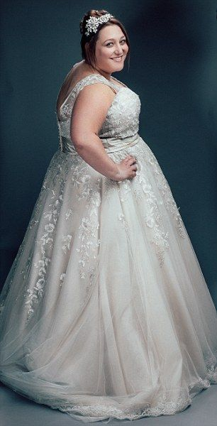 Big brides and proud of it! Inside the plus-size wedding dress shop ...