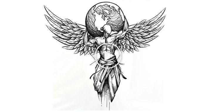 Tattoo With Wings Tattoos Bleistiftzeichnungen Tattoo Tattoos Wings Sketch Style Tattoos Wings Tattoo Wing Tattoo