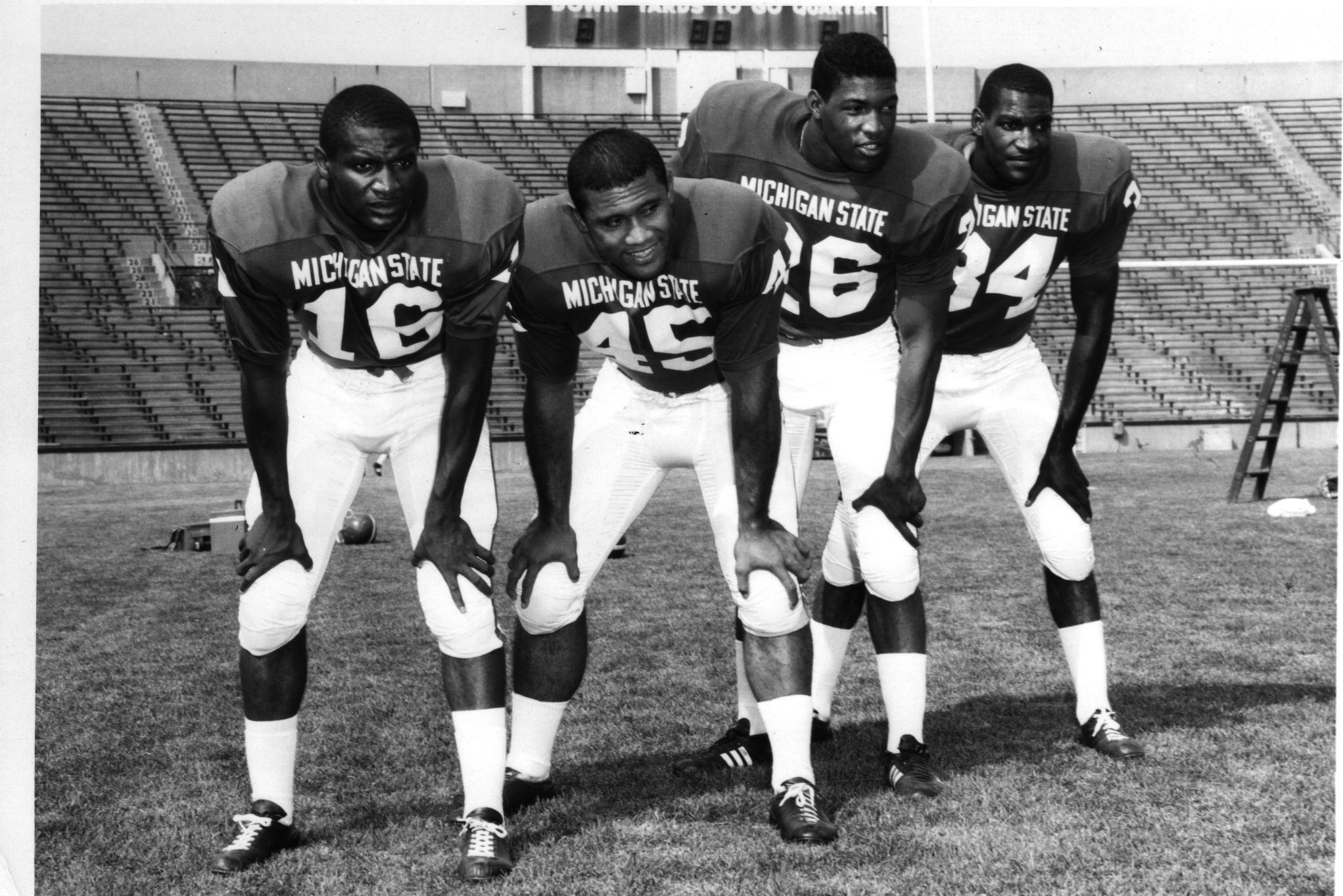Michigan State Spartans 1966 Raye Apisa Jones Lee 34 Is My Husband Michigan State Football Michigan State Michigan State University