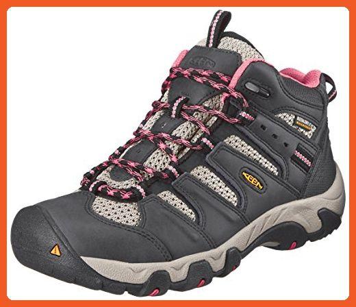 c26840fa139 KEEN Women's Koven Mid WP Hiking Boot, Raven/Slate Rose, 6.5 M US ...