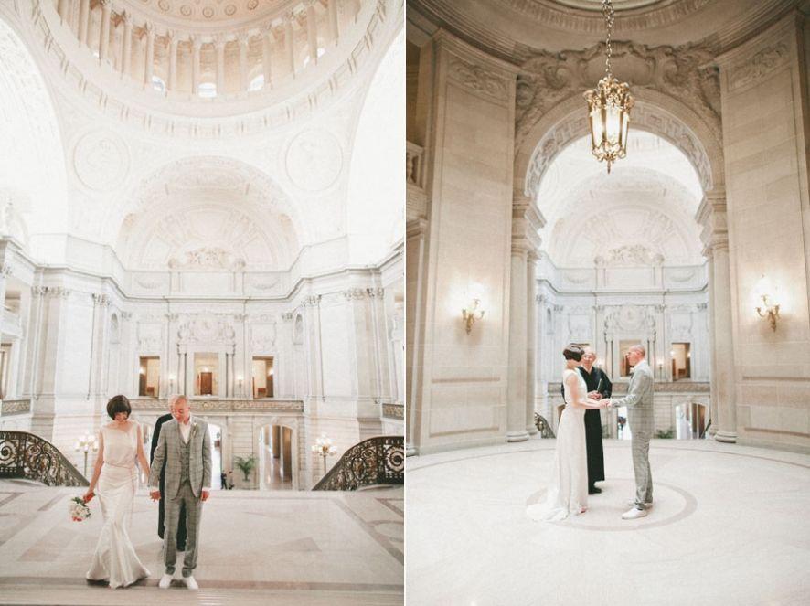 Super High Ceilings Civil WeddingCity Hall WeddingsWedding ShootFrancisco DsouzaHigh