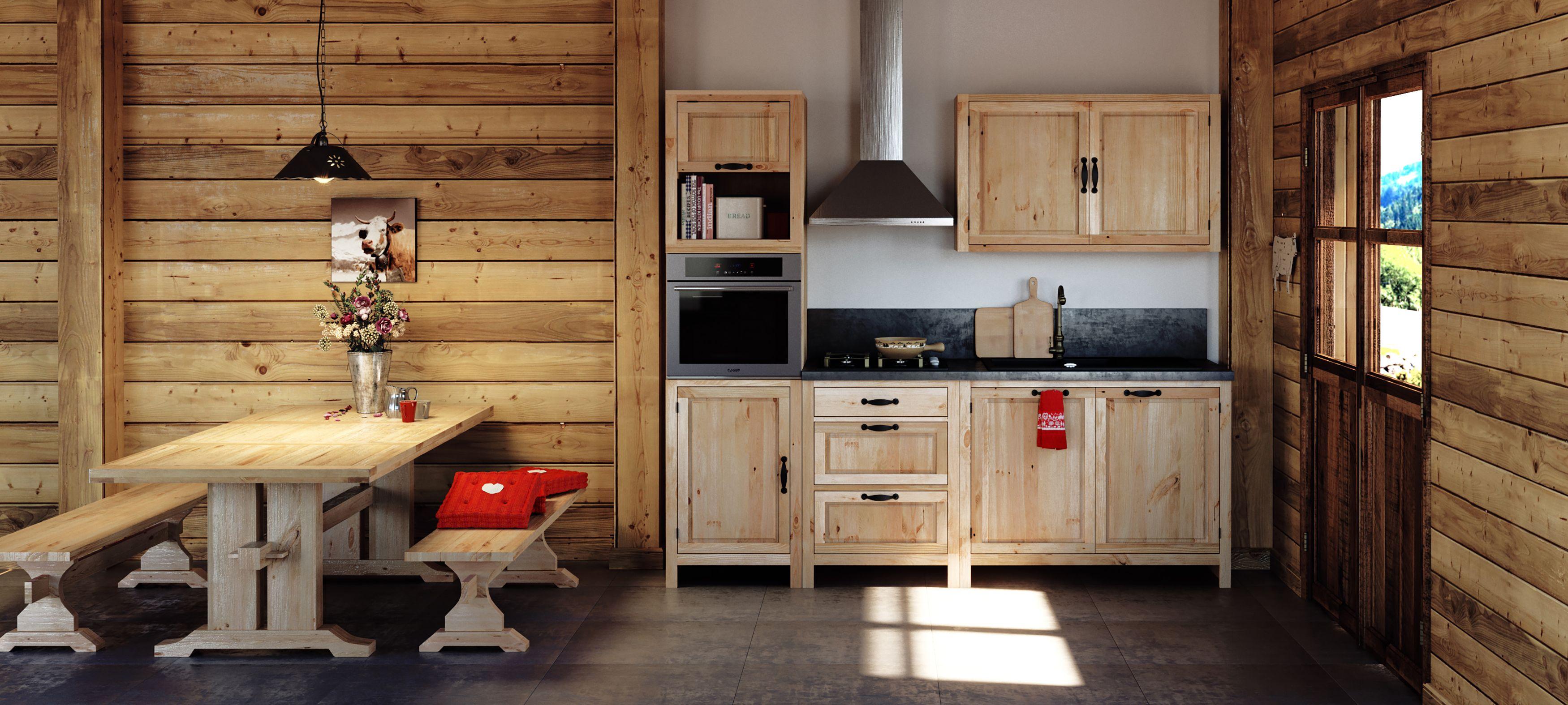 Retrouvez Nos Kitchenettes Pour Vos Studio En Station Ainsi Que Nos Meubles De Cuisine Types Chalet Mobilier De Salon Meuble Deco Kitchenette
