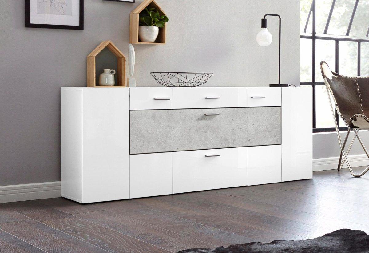 Schrankchen Weis Hochglanz ~ Einzigartig schlafzimmer kommode weiß hochglanz stock