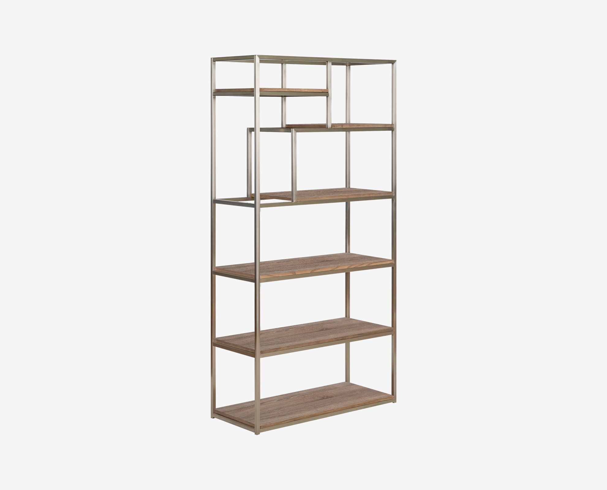 Scandinavian Designs  The Adelig Bookcase Is Transitional In Style,