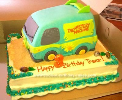 Coolest Scooby Doo Birthday Cake Scooby doo birthday cake