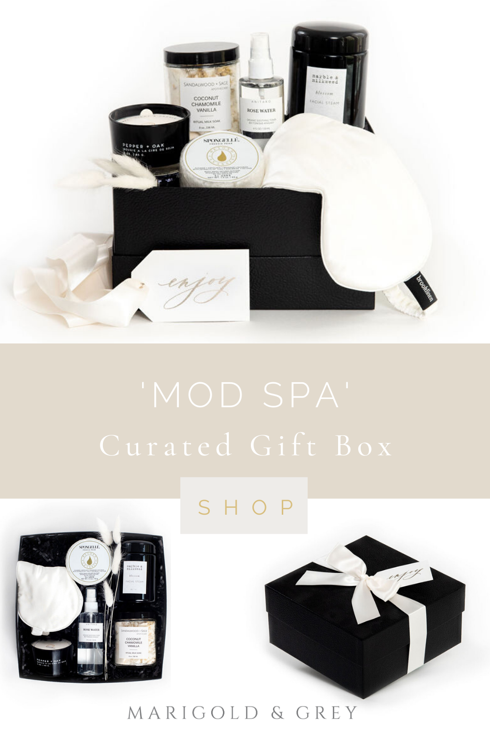 Introducing Our New Mod Spa Gift Calligraphy Gift Tags Perfect Engagement Gifts Engagement Gifts