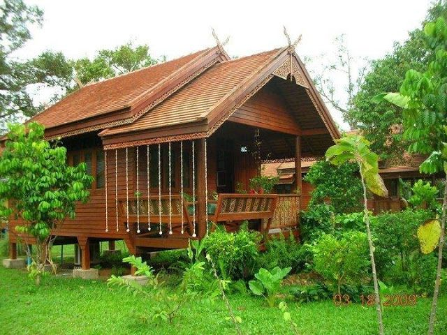 75 Designs Of Houses Made Of Wood Bamboo And Other Indigenous Materials House Design Bamboo House Design House