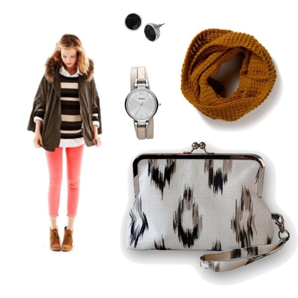 """Snowy Ikat"" by sassysaks @Polyvore http://www.sassysaks.com/products/sassy-clutch/clutch-ikat.php"