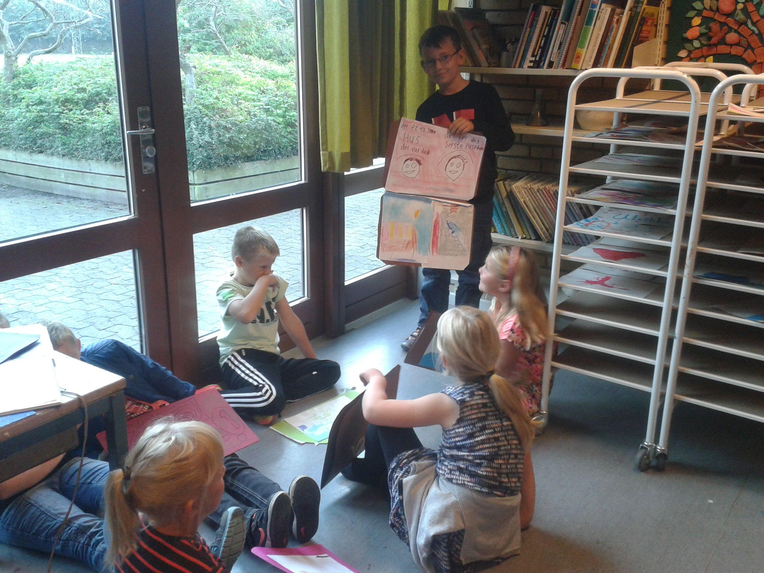 Feriekuffert klasse Fremlæggelse af feriekuffert i små grupper
