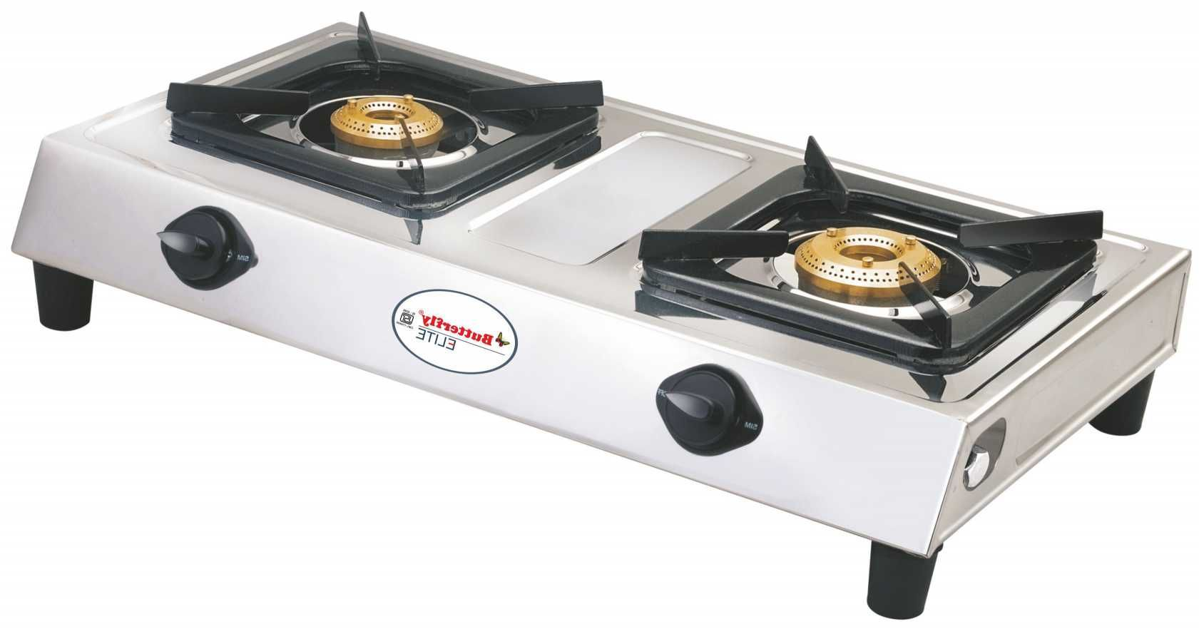 Butterfly Elite2bss 2 Burner Manual Gas Stove Price In India Buy Stove Prices Cheap Living Room Decor Kitchen Stove