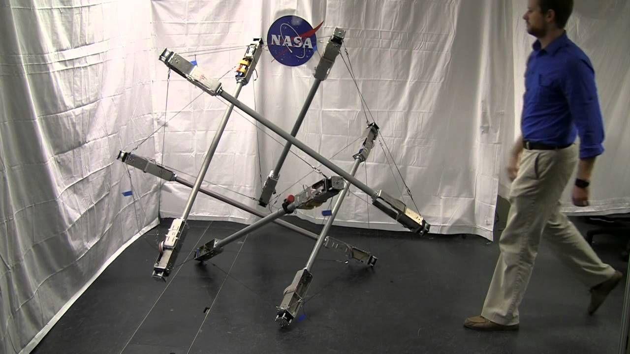 ICRA 2015 SUPERball Tensegrity Robot