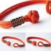 Wie erstelle ich einen Diamant - Knoten und Schlaufenverschluss / Micro Cord Cobra Weave Paracord für - #ropeknots